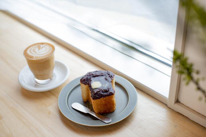 「Good up Coffee」のコーヒーのお供に食べたいスイーツ系トースト