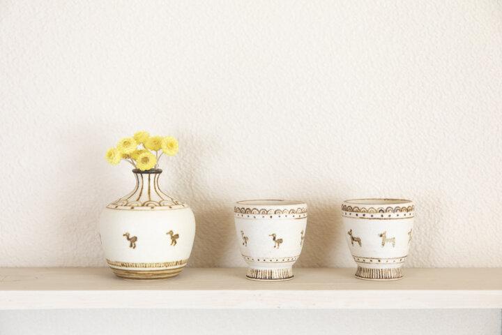 陶芸のロマンに想いを馳せる「どうぶつ」シリーズ