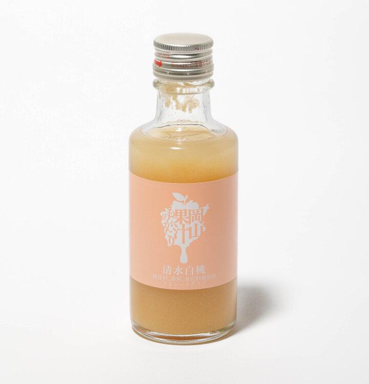 【岡山】食べごろの桃を贅沢に「岡山果汁ものがたり 清水白桃」