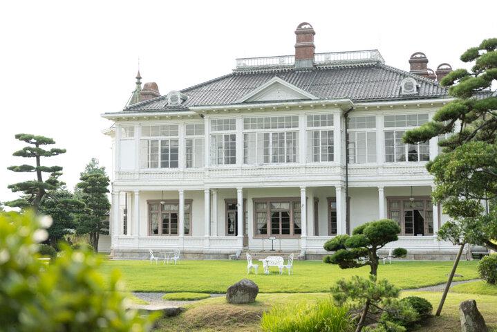 フォトジェニックな白亜の洋風建築「仁風閣」へ