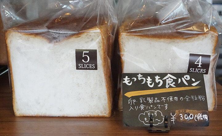 一番人気は、「もっちもち食パン」!