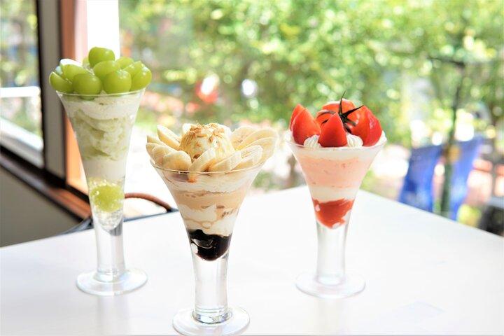 歴史のある街並みを見ながら楽しむ旬のフルーツいっぱいのパフェ♪横浜「ミルピグパフェ部」