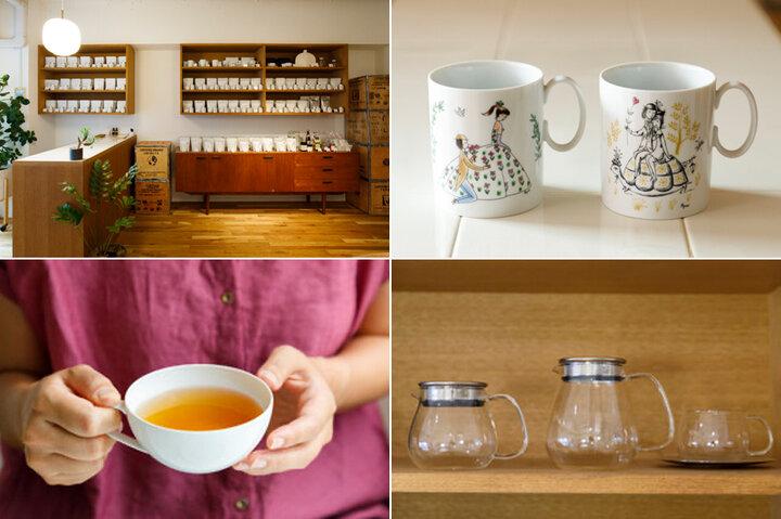 約80種類の茶葉がずらり!味と香り、高品質にこだわる紅茶専門店/青山「ウーフ東京店」