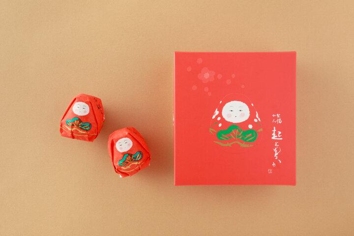 金沢の郷土玩具をモチーフにした人形もなか