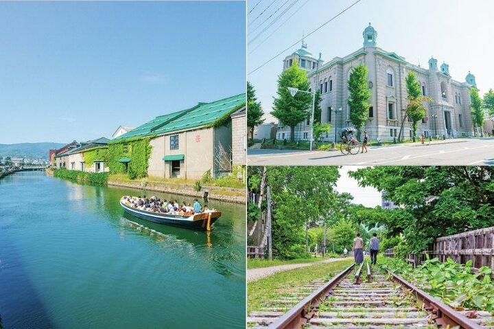 潮風と歴史のロマンを感じる、小樽運河ぐるっとさんぽ
