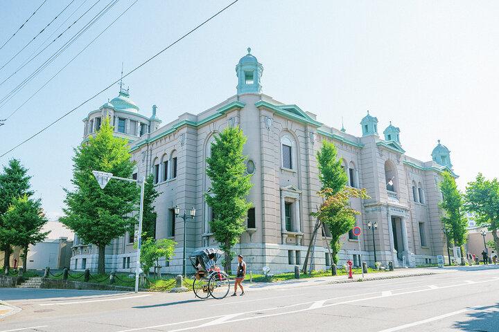 辰野金吾の設計による明治期の銀行建築の傑作「日本銀行旧小樽支店 金融資料館」