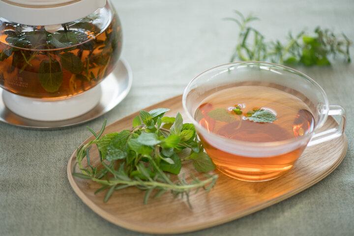 フレッシュなハーブの香りで心が落ち着く紅茶