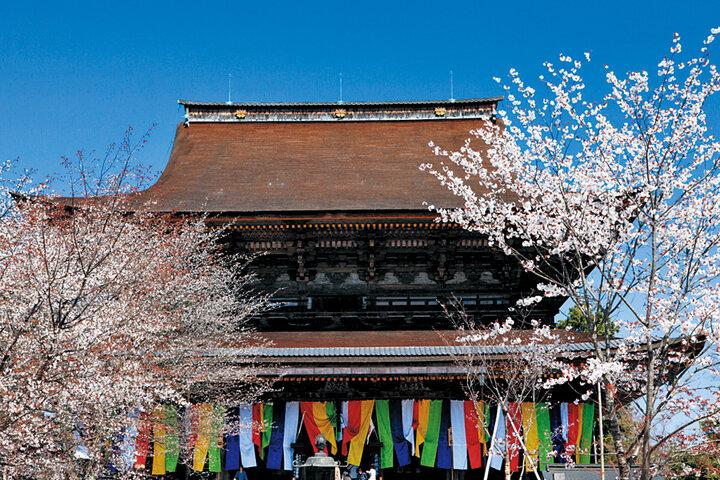 「金峯山寺」春だけの特別な催しに参加しましょう