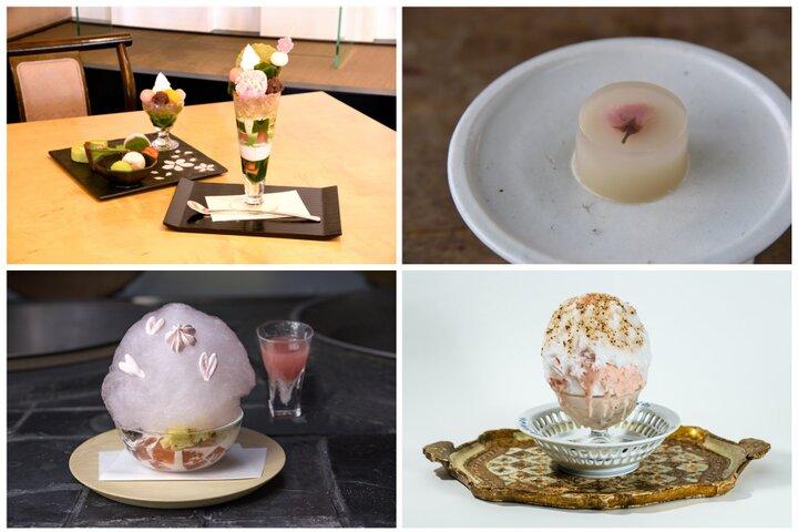 春色かき氷から、桜の花を閉じ込めたスイーツまで♪京都で味わいたい桜スイーツ4選