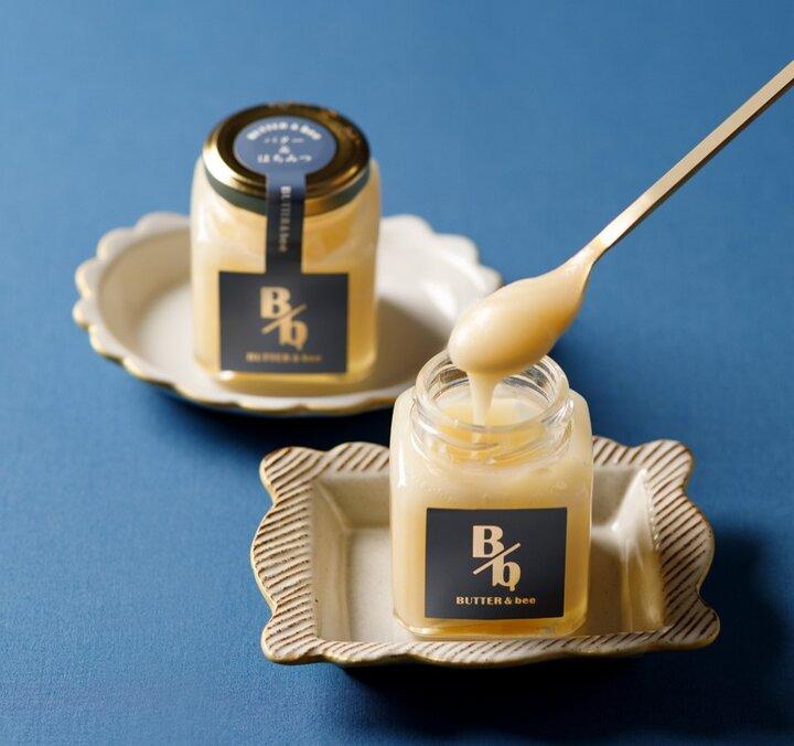 厳選した素材の黄金比、はちみつバター