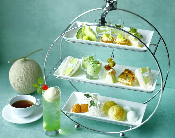 メロンづくしに日本三大銘茶の食べ比べ♪ 東京・横浜で楽しめるホテルアフタヌーンティー5選