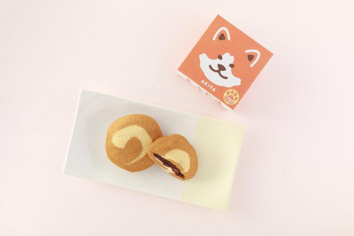 秋田犬をイメージした、白いしっぽの印がキュート「もふどら」/秋田県