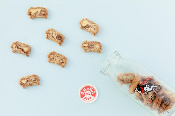 ミルクの風味漂うかわいい牛型クッキー「阿蘇の草原飛ぶ牛クッキー」/熊本県