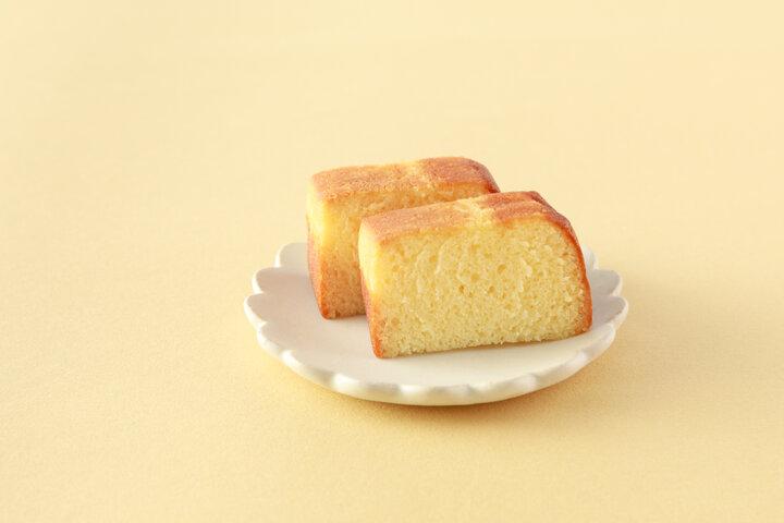 ふっくら焼きあげたきめ細かなケーキ