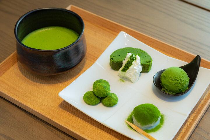 【第4位】大阪・堺の老舗茶舗が手がける抹茶スイーツと日本茶カフェ「茶寮 つぼ市製茶本舗なんば店」