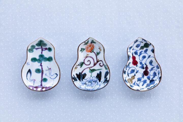 暮らしのなかにある小さな福をうつわに描く稲葉カヨさんの小皿