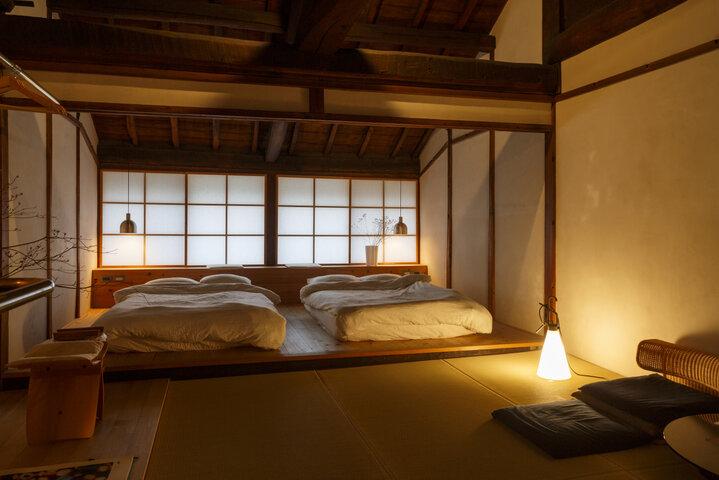 現代の奈良のクリエイターとコラボした空間
