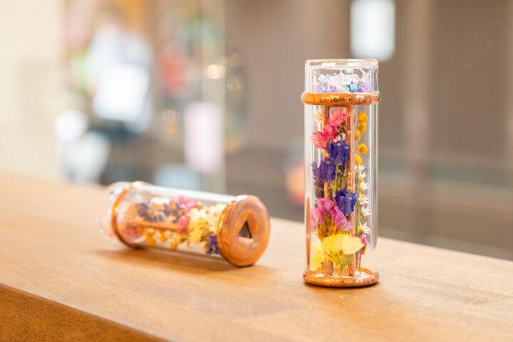 「Atelier Nagahama」のガラスの万華鏡にうっとり