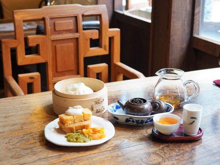 香りも味もデザートもすべて一緒に楽しむ本格中国茶♪横浜「悟空茶荘」