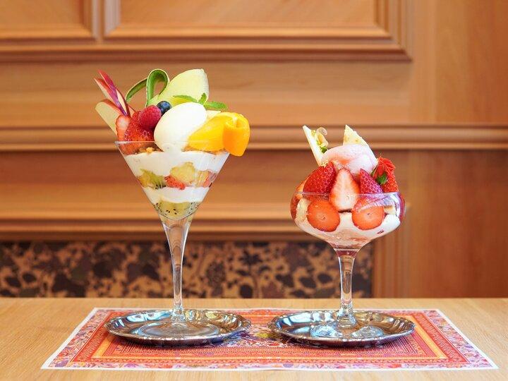 【第3位】果実の甘みたっぷり♪老舗青果店のフルーツパフェ。横浜「水信フルーツパーラー」