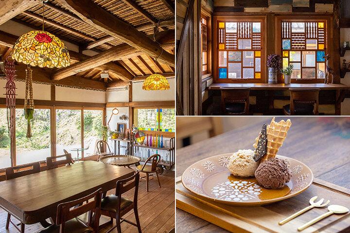 ノスタルジックな雰囲気も魅力♪ 淡路島のジェラートカフェ「島の恵みジェラート のら」