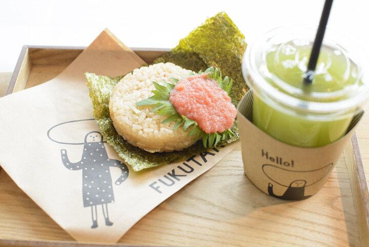 食べ歩きできる限定メニューが人気の「福太郎 太宰府店」