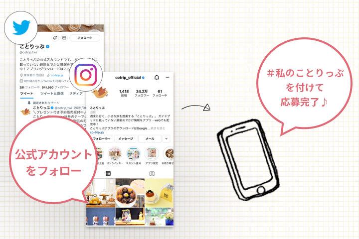◎応募方法【Instagram・Twitter】