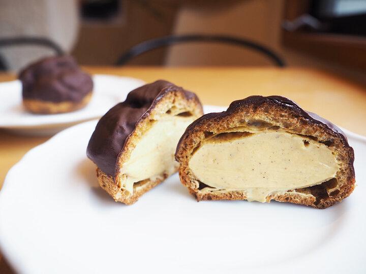 チョコレートを心ゆくまで味わえるシューショコラ