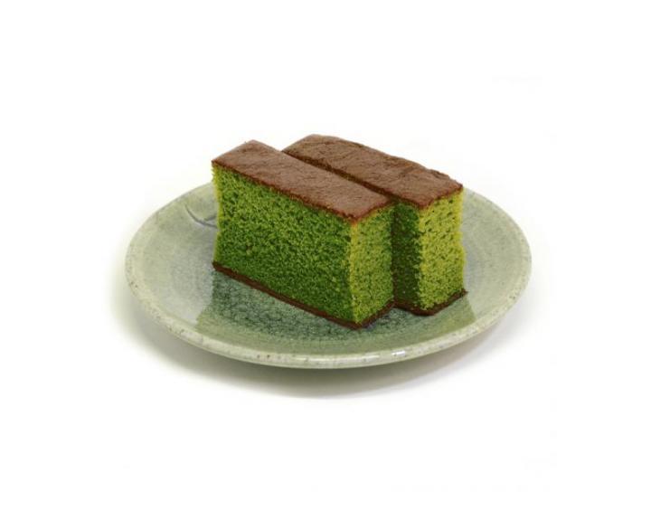 まるでシフォンケーキのようなしっとり感♪老舗 和菓子屋の「抹茶カステラ」