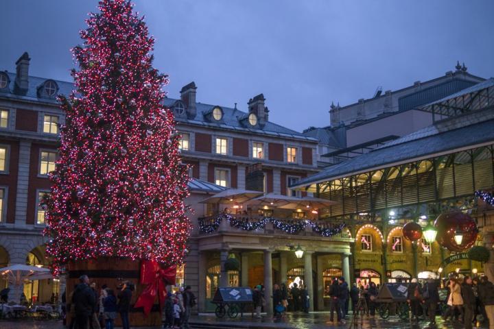 クリスマス気分を盛り上げる ロンドンのイルミネーション