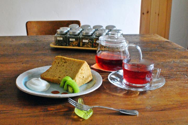 オリジナルブレンドのハーブティーが楽しめる癒しのサロン 京都・西陣「たま茶」