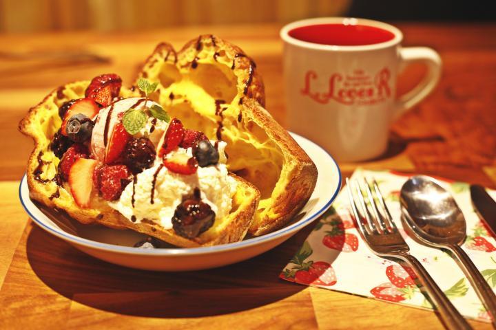 本場のポップオーバーが味わえる渋谷のカフェ「エルラブズアール」