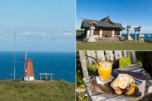 「神宿る島」を望むパワースポットから、海の見える島カフェまで。2つのコースで楽しむ秋の宗像へ