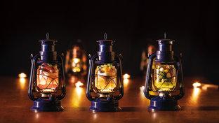 ゴンドラに乗って♪滋賀の山小屋カフェでいただく、幻想的なランプパフェがすてき