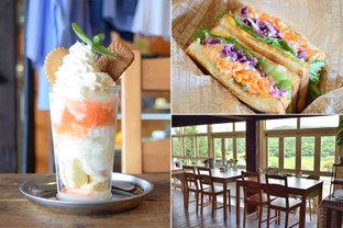 窓からは、見渡す限り田園のグリーン♪カラフル野菜たっぷりランチが人気の里山カフェ「HIRASAWA F MARKET」