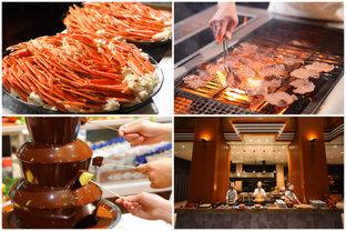 ずわいがにや牛たんも、 豪華な地元食材を好きなだけ♪ 宮城「ホテル瑞鳳」のビュッフェレストラン