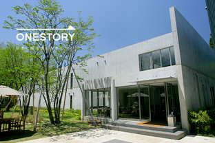 建築とランドスケープの幸せな融合。[アートビオトープ那須/栃木県那須郡那須町] by ONESTORY