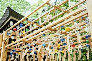 美しい江戸風鈴に夏の涼を感じて。良縁を願う「川越氷川神社 縁むすび風鈴」