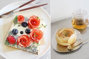 京都で話題の新カフェ!いちごのバラが咲く可憐なトーストにうっとり♪