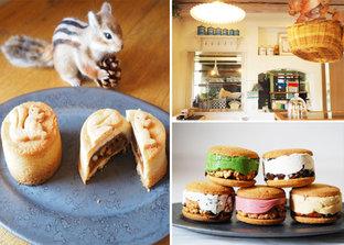 ヨーロッパの片田舎に迷い込んだみたい♪  カラフルなクッキーサンドがかわいい、「コンディトライ ミーネ」
