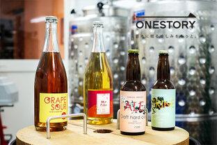 """年齢も経歴もバラバラ。そんな津軽の""""ONE TEAM""""が醸す、今注目のシードル&ワインとは?[GARUTSU/青森県弘前市]by ONESTORY"""