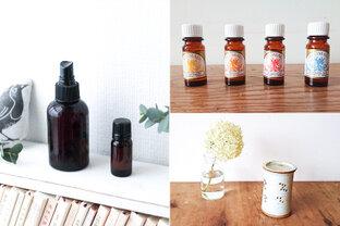 おうち時間をアロマの香りで快適に~簡単にリフレッシュできる3つの方法~