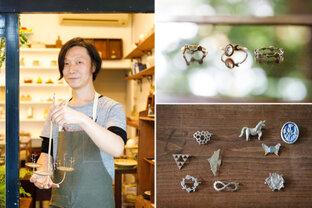 物語が込められたお守りのようなアクセサリー/彫金作家・谷内亮太さん