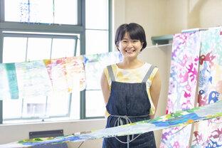 あふれる色彩で染色の魅力を届けたい/染色作家・池田圭さん