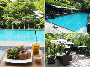 緑に囲まれた伊豆の温泉郷で、のんびりリゾート気分♪ ベーカリー&足湯カフェ「Bakery&Table東府や」