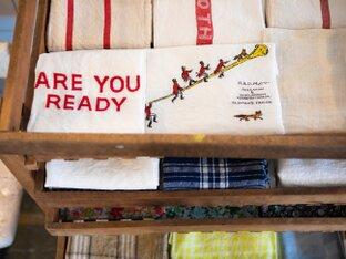 素敵なリネン雑貨に包まれて、英国風のティータイムを。富士吉田「THE DEARGROUND」