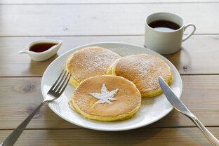秩父の豊かな自然に包まれたカフェ「MAPLE BASE」でふわふわパンケーキを
