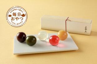 【毎日おやつ】日本特有の季節を表現した5色の美しい和菓子「発酵さしすせそ羊羹 五季」/静岡県