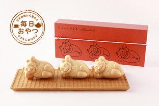 【毎日おやつ】丸いおなかの猫が福を呼ぶ?!白あんたっぷりの「たらふくもなか」/東京都