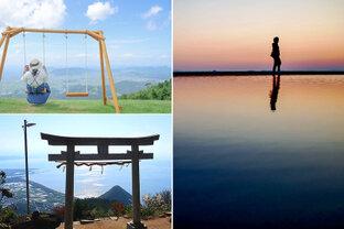 日本のウユニ塩湖から、天空のブランコまで♪ 香川県で見つけた瀬戸内海の絶景スポット6選